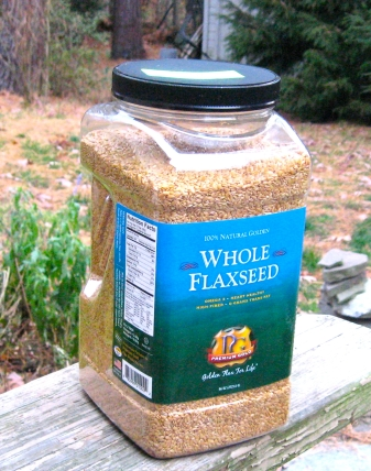 Photo of Jug of Ellie's Whole Grains Flax Seed