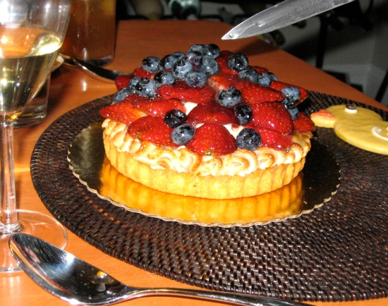 Danish Pastry House Fruit Tart