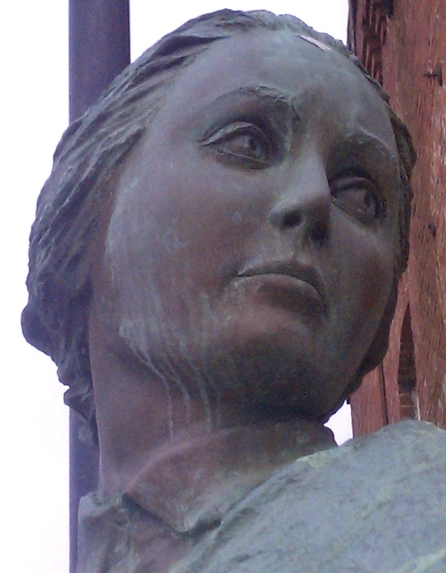 Mill Girl Statue