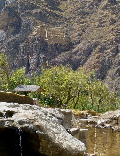 Granary at Ollantatambo, Peru