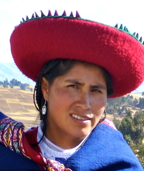 Woman at Chinchera, Peru