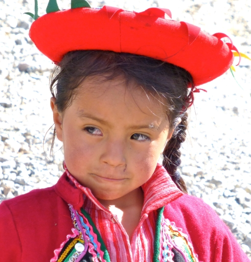 Girl at Chincera, Peru