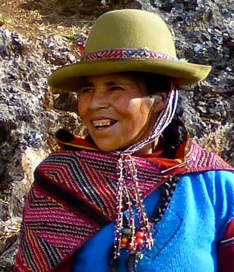 Dona Asunte at Chinchera, Peru