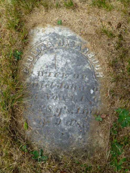 Paulina Johnson's Grave, Deer Isle