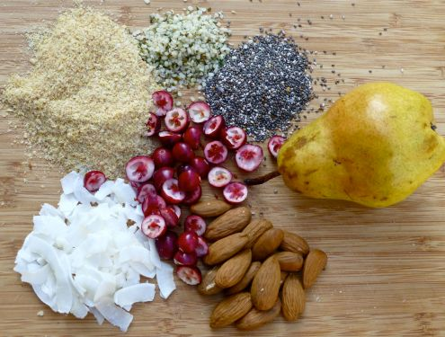 Superfood Breakfast Ingredients