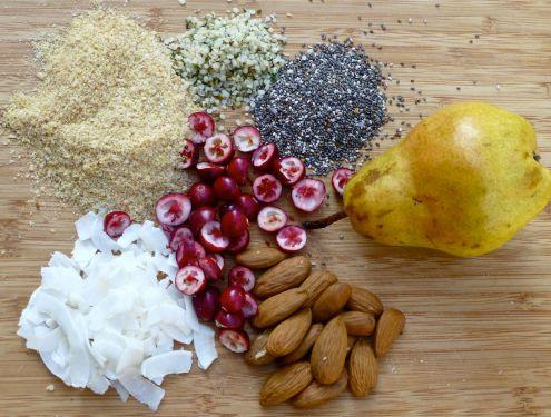 Superfood Breakfast Ingredients